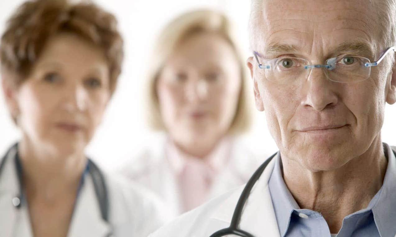 equipa de medicos